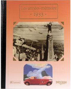 """Le Livre """"Les années mémoire 1933"""""""