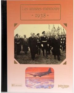"""Le Livre """"Les années mémoire 1938"""""""