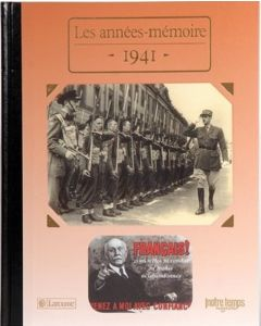 """Le Livre """"Les années mémoire 1941"""""""