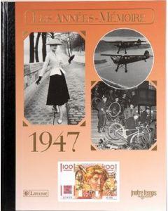 """Le Livre """"Les années mémoire 1947"""""""