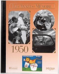"""Le Livre """"Les années mémoire 1950"""""""