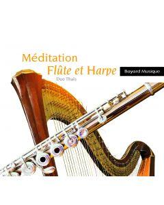 Méditation flûte et harpe