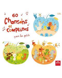 CD 60 chansons et comptines pour les petits