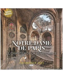 Calendrier Notre-Dame de Paris 2022