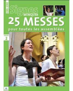 25 messes pour toutes les assemblées - Volume 2