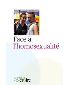 Face à l'homosexualité