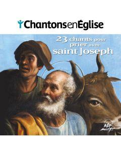 23 chants pour prier avec saint Joseph