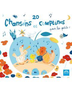 CD 20 chansons et comptines pour les petits vol 1