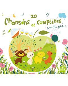 CD 20 chansons et comptines pour les petits vol 2