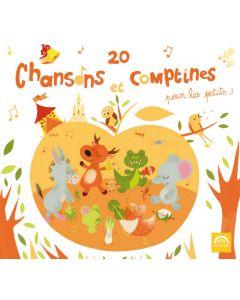 CD 20 Chansons et comptines pour les petits vol 3