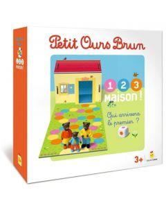 Petit Ours Brun : 1, 2, 3 maison !