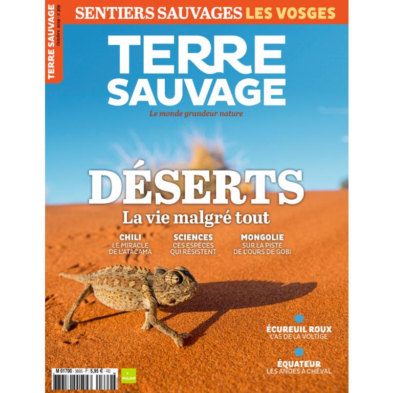 Terre Sauvage Octobre 2019
