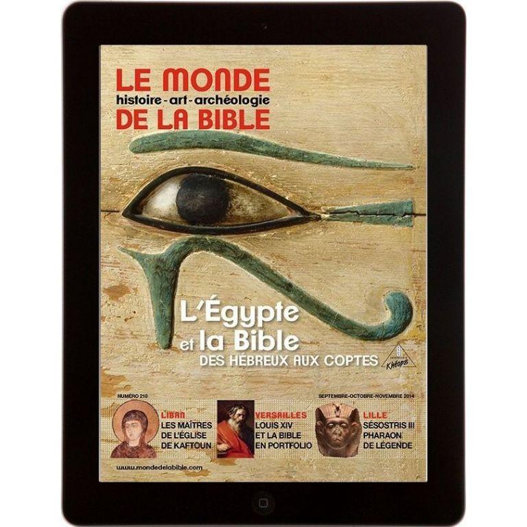 E-Mag L'Égypte et la Bible
