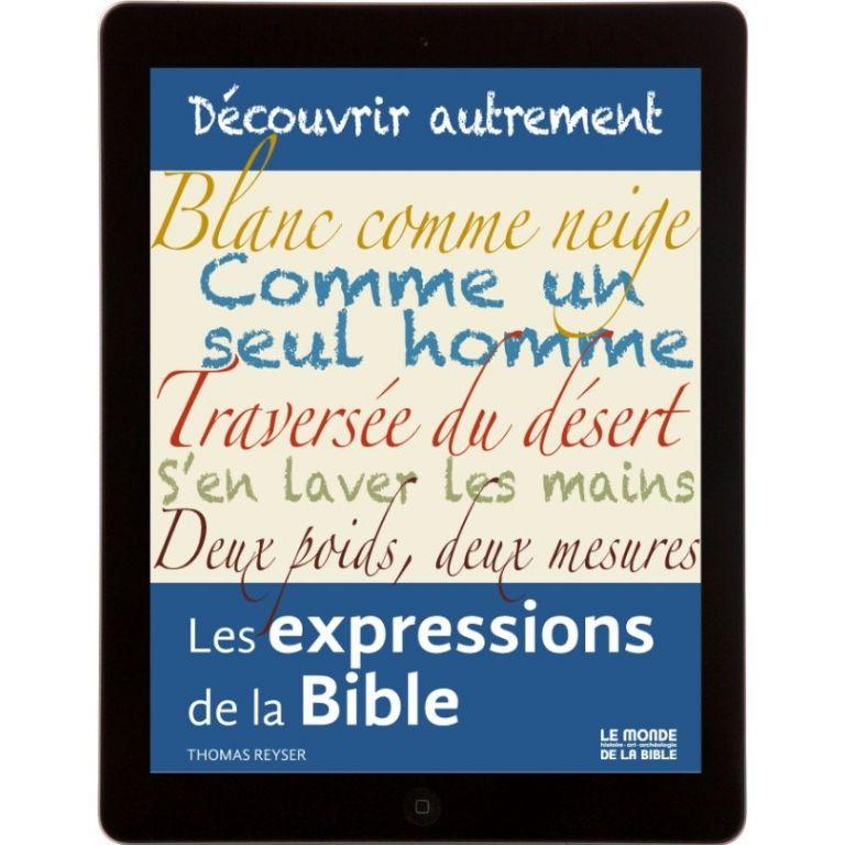 Les expressions de la Bible