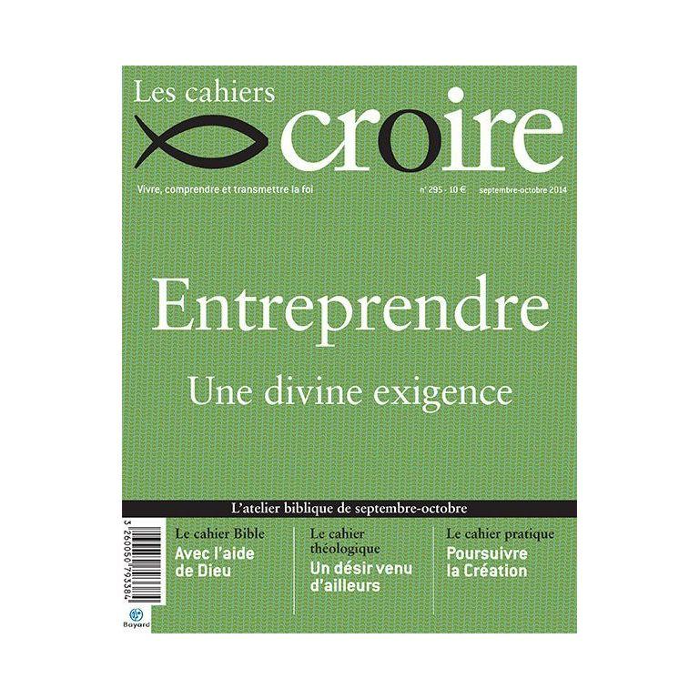 Cahier Croire Entreprendre
